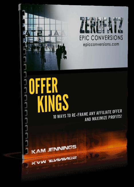 一种无价的资源它概括了20种以上的方法可以在网上赚更多的钱 + 改善你的在线电商业务(Offer Kings)