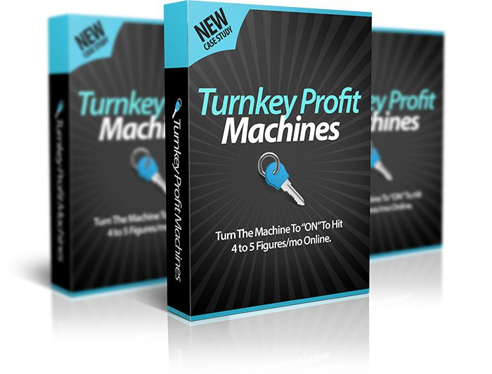 没有邮件营销列表,没有产品,没有经验,也没有技术,你可以学习如何建立一个已经验证的$1万美元每月的利润机器(Turnkey Profit Machines)