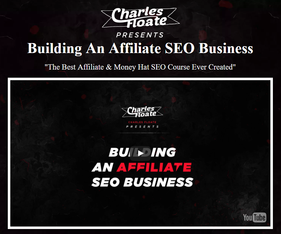 The Best Affiliate & Money Hat SEO Course Ever Created(Building an Affiliate SEO Business)