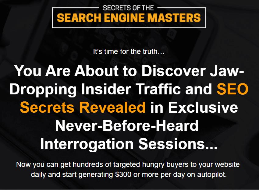 搜索引擎优化大师的秘密(Secrets of The Search Engine Masters)