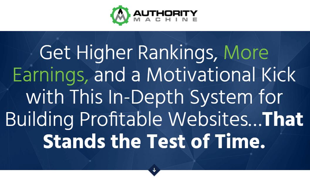 随随便便建立个已经验证的盈利网站的项目(Authority Machine)