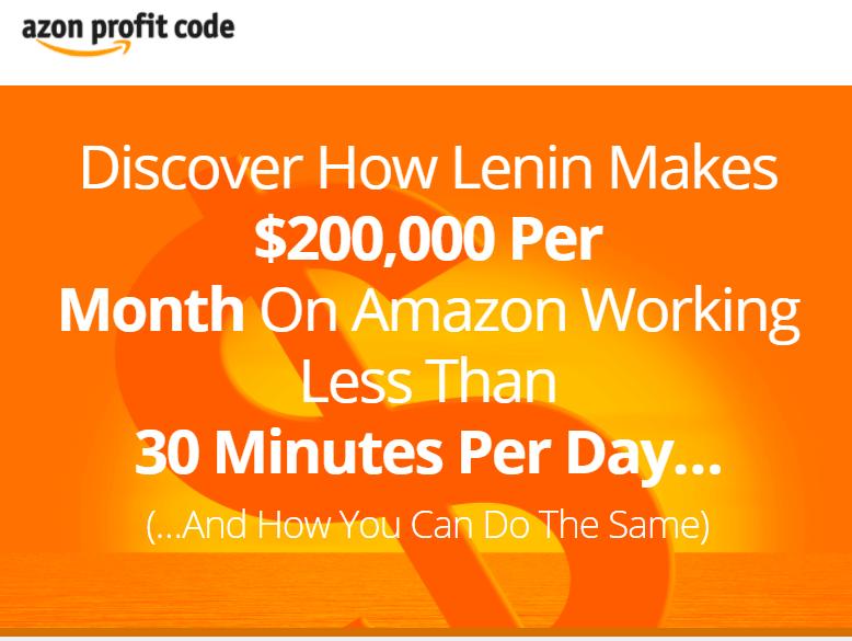 亚马逊开店、选品、推广、运营完全攻略(Azon Profit Code)