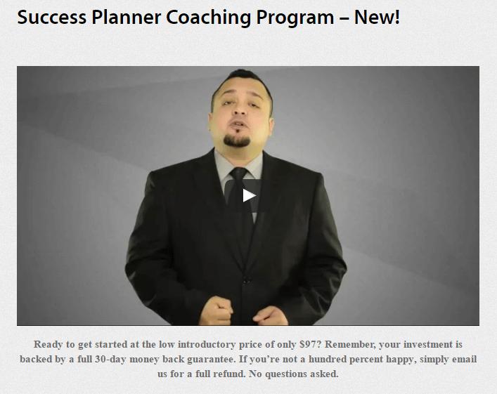 成功策划一步一步指导生意增长30%+(Success Planner)