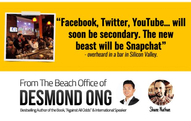 Snapchat的介绍+操作+秘密武器+流量变现(SnapMillions)