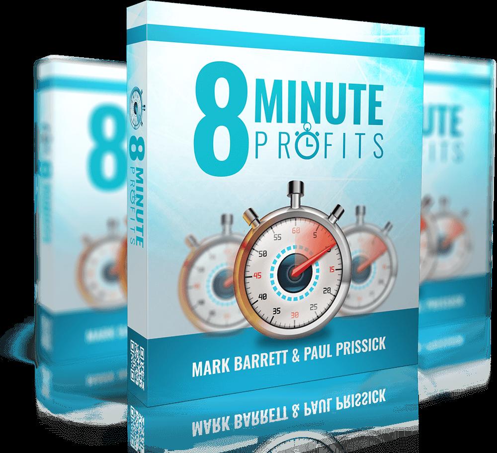 多起案例揭示了如何在短短8分钟内用100%的免费流量来实现每天283美元的收入(8 Minute Profits)