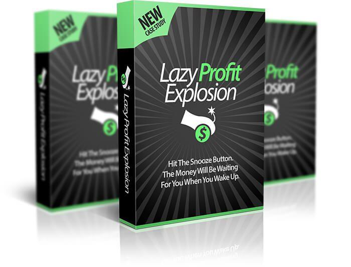 认为月入万刀遥不可及?这个经过验证和测试的'Lazy Profit Explosion'在24小时内就可完美运行!