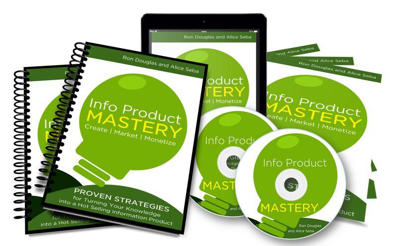 如何将你的激情,爱好或经验转化为火爆产品热销产生持续的收入!(Info Product Mastery)