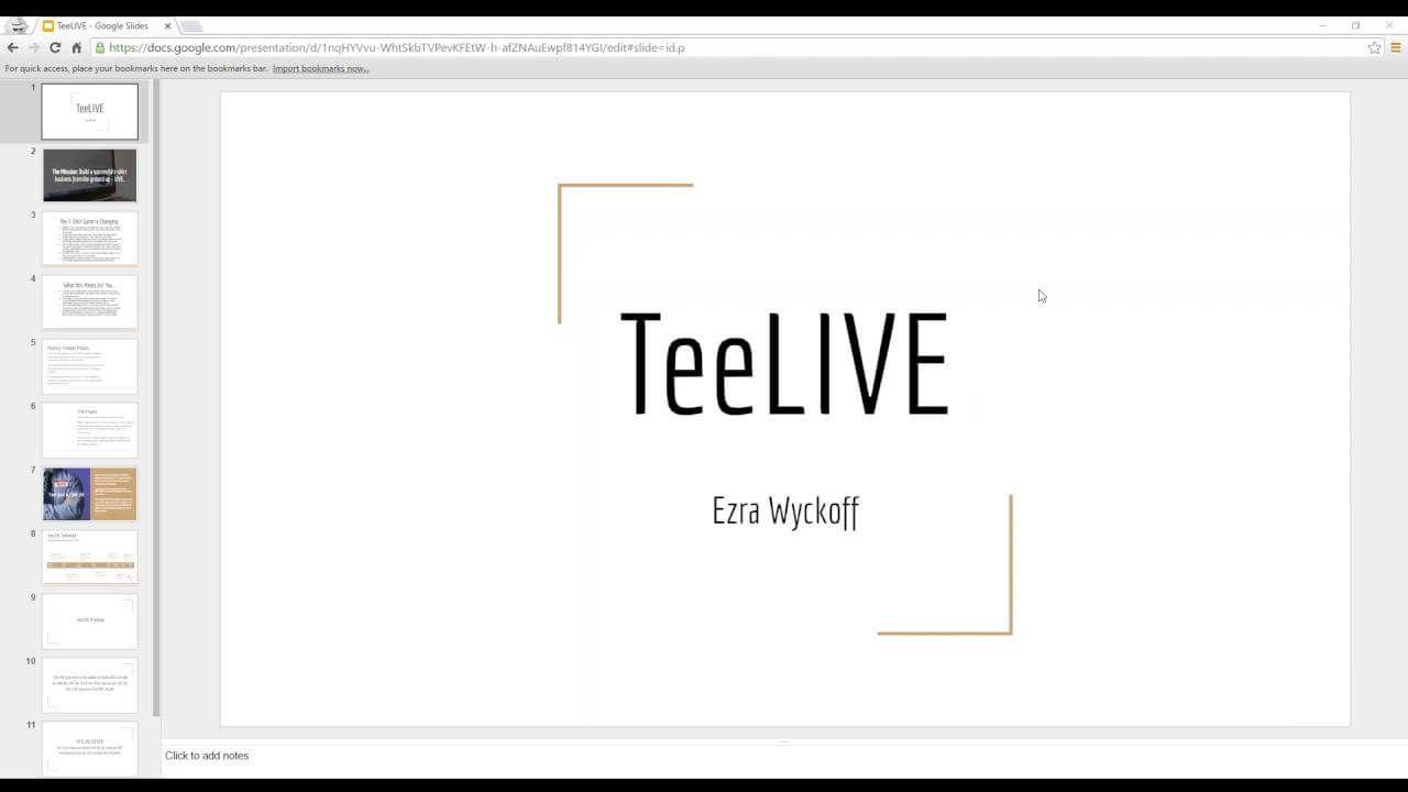 T恤销售中每个阶段最重要的成功秘诀(TeeLIVE)