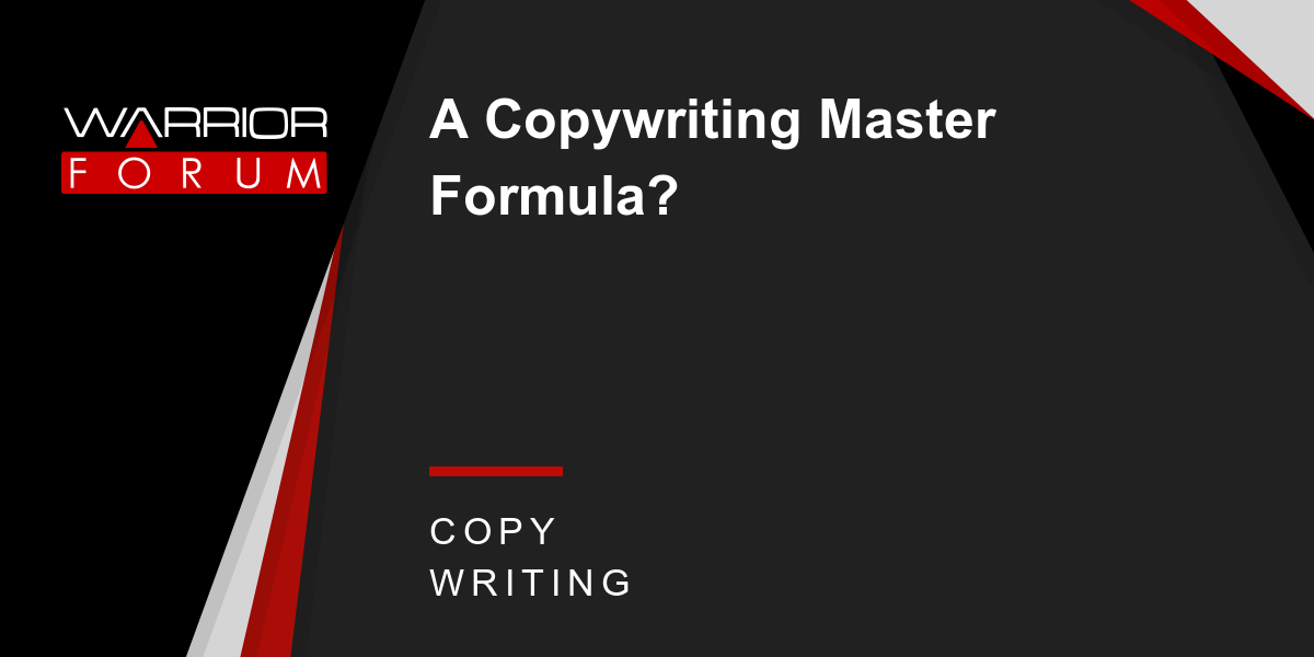 文案大师养成记(The Copywriting Master Formula)