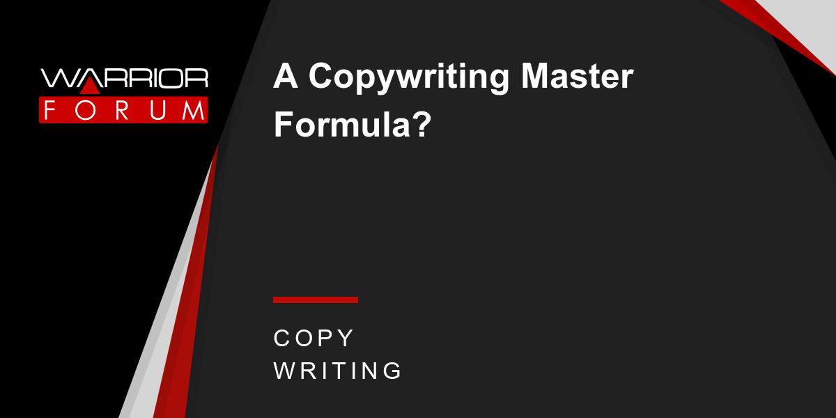 文案大师养成记(The Copywriting Master Formula)