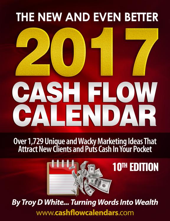 吸引新买家和拓展业务的10年长青模式的最终指南(2017 Cash Flow Calendar)