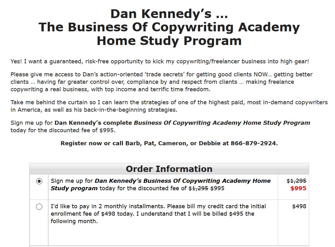 学习山姆大叔付费最高需求最多的撰稿人之一的策略以及他最初的策略!(Business Of Copywriting Academy)