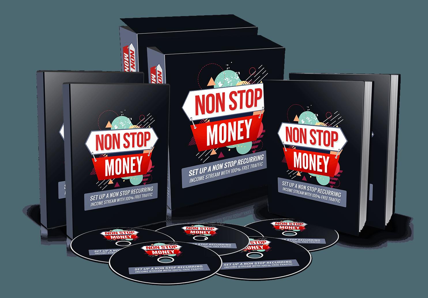简单的一步一步的指导如何获取不间断的经常性利润来源(Non Stop Money)