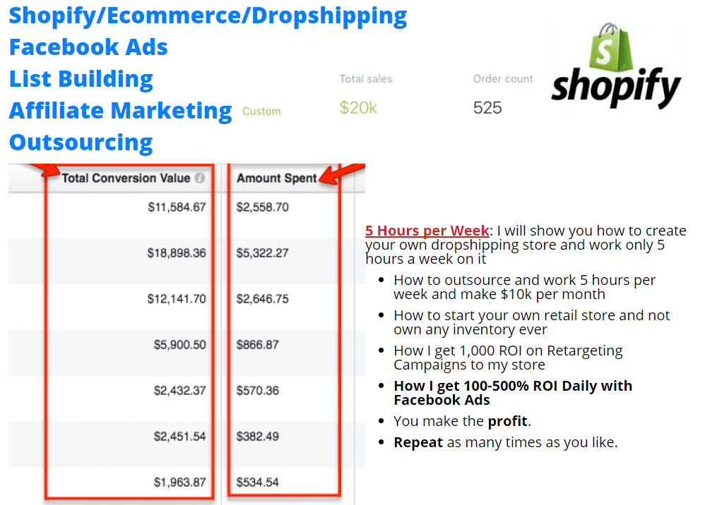 完整的指导您外包跨境电商轻松每月赚万刀 Shopify, Ecommerce, Dropshipping, Facebook Ads, List Building, Affiliate Marketing, Outsourcing(Ecom Outsourced)
