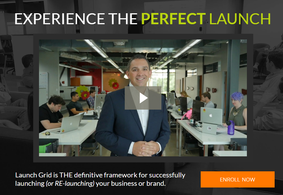EXPERIENCE THE PERFECT LAUNCH - LET US HELP YOU BECOME THE SMARTEST MARKETER IN THE ROOM(The Launch Grid)