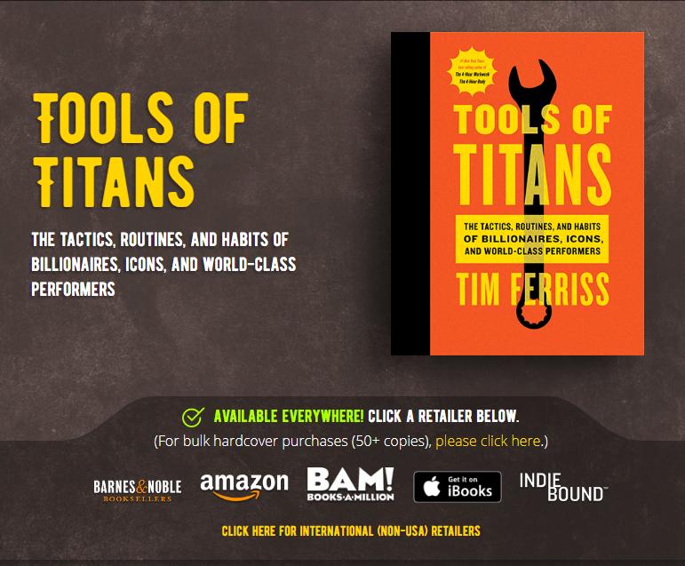 这些课程让我赚了数百万美元,并且省去了我多年时间的浪费和失败的打击沮丧。(Tools Of Titans)