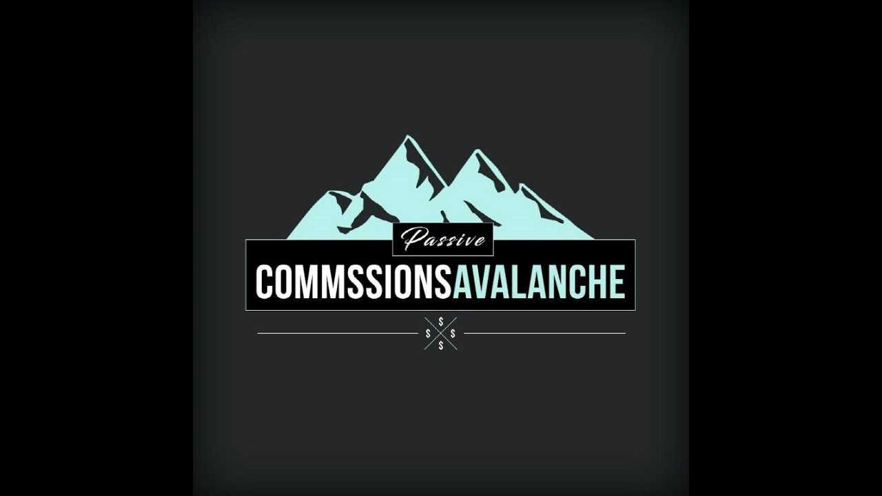 每周工作时间4小时 每天在联盟佣金中赚取$100- $300(Passive Commissions Avalanche)