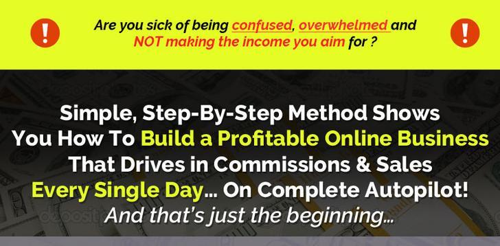 逐步进行的视频培训您将亲手掌握设置您的在线盈利业务(Stunning Simple Profits)