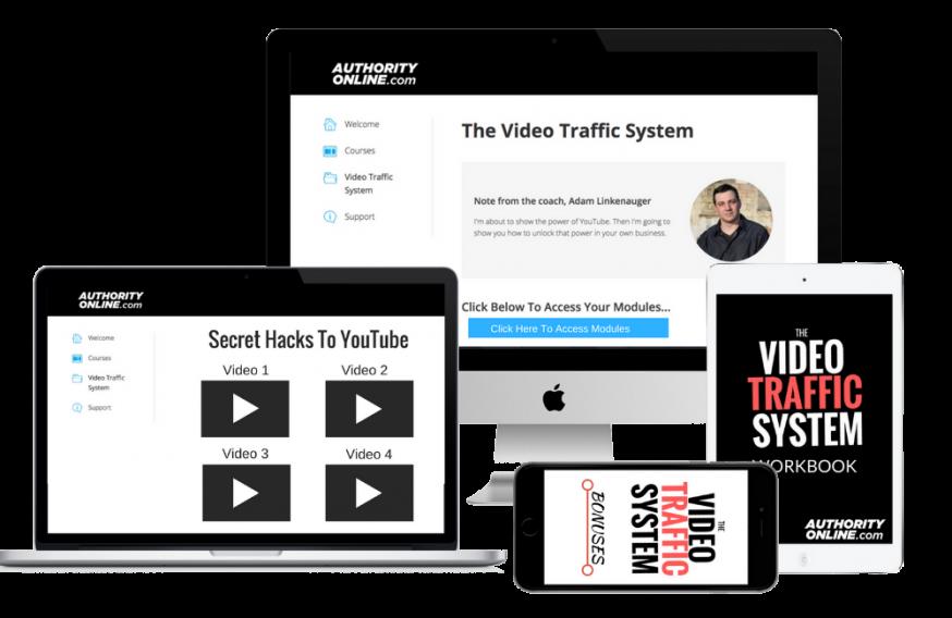 五步速成教你如何使用YouTube视频免费的赚钱(Video Traffic System)