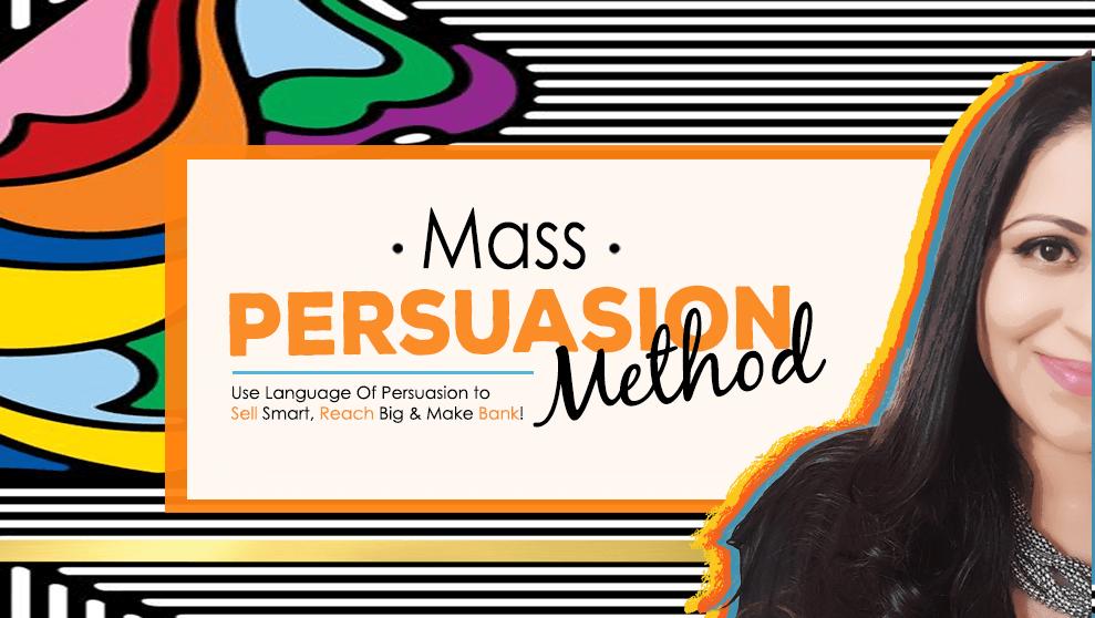 """找出你应该用什么词、短语和表达来触发买家的""""购买""""情绪(Mass Persuasion Method)"""