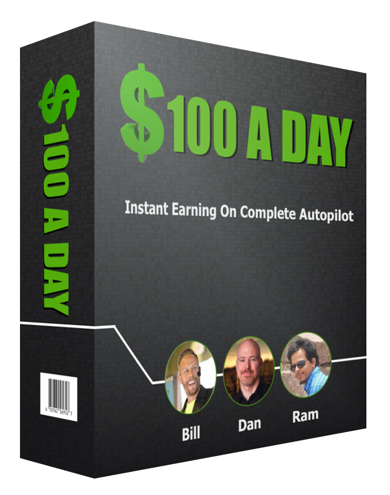 """""""Discover How YOU Can Generate $100+ A Day With This 100% Free Method!"""" ($100 a Day)"""