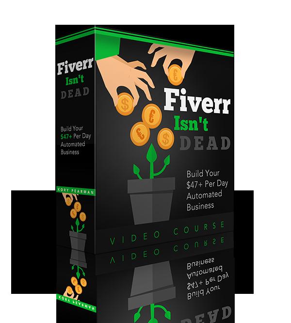 FINAL Fiverr Isnt Dead BOX 600px - 13分钟的工作简单4步Fiverr策略让我每天额外收入$47(Fiverr Isn't Dead)