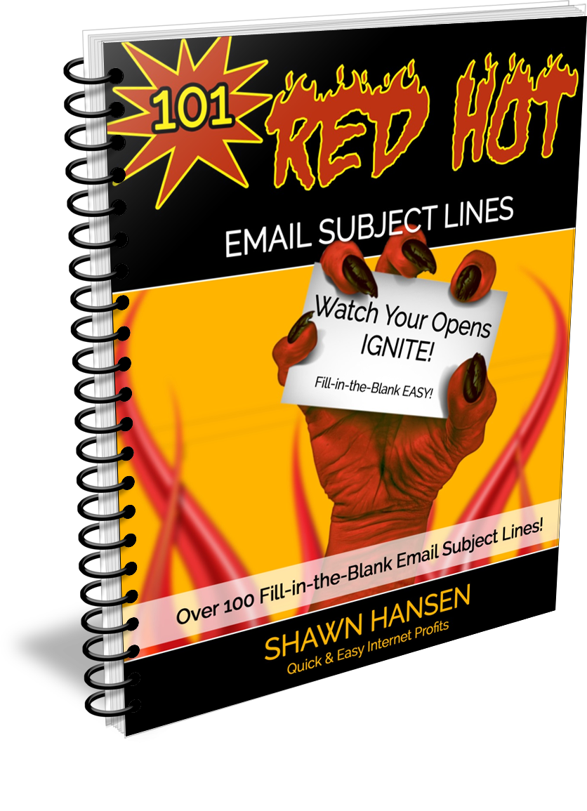 RedHotEmailSubjectLines COVER 3D Binder - 邮件营销必备 - 高转换率电子邮件主题模版(101 Red Hot Email Subject Lines)