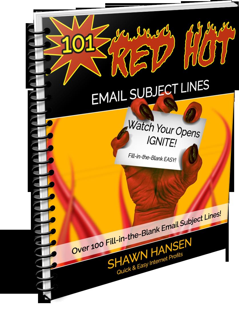 邮件营销必备 - 高转换率电子邮件主题模版(101 Red Hot Email Subject Lines)