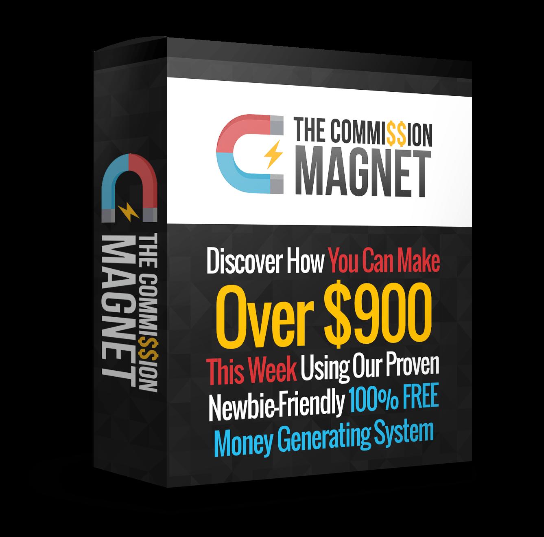 学习如何不用花一分钱本钱就能赚钱(Commission Magnet)