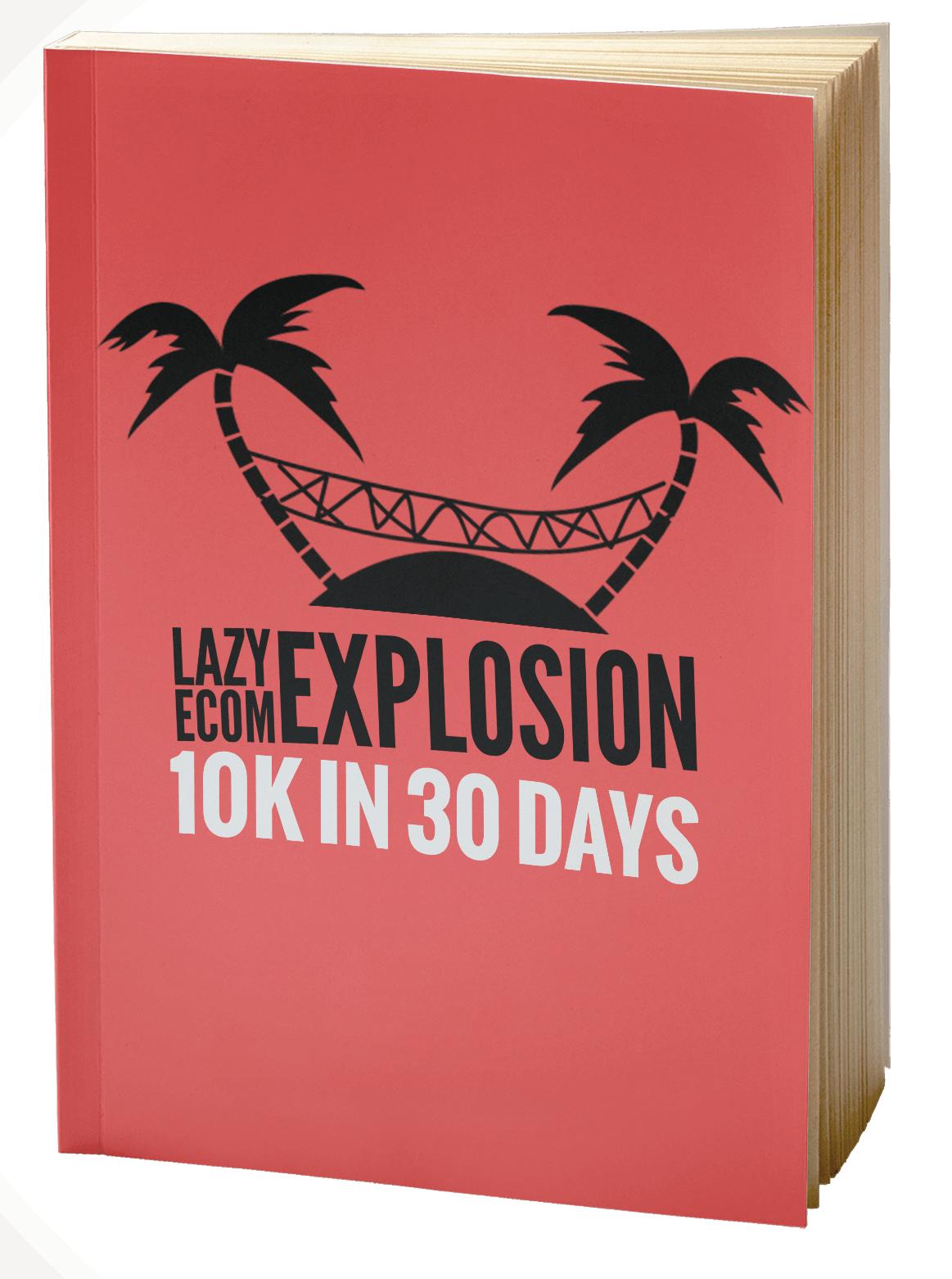 懒人教你如何在Shopify上销售实物的直接方法(Lazy eCom Explosion)