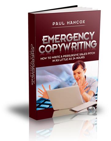无任何文案经验如何在24小时内创建无与伦比的销售卖点(Emergency Copywriting)