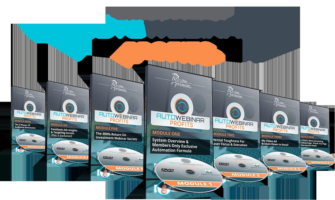 100%全自动化系统自动产生潜在客户,将潜在客户转化为客户,完全系统化跟进,同时每天产生$97-$997美元的销售额(Auto Webinar Profits)