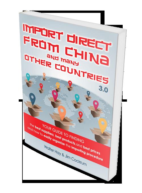 老外教你如何从中国和其他国家进口商品销售(Import Direct From China and Many Other Countries)