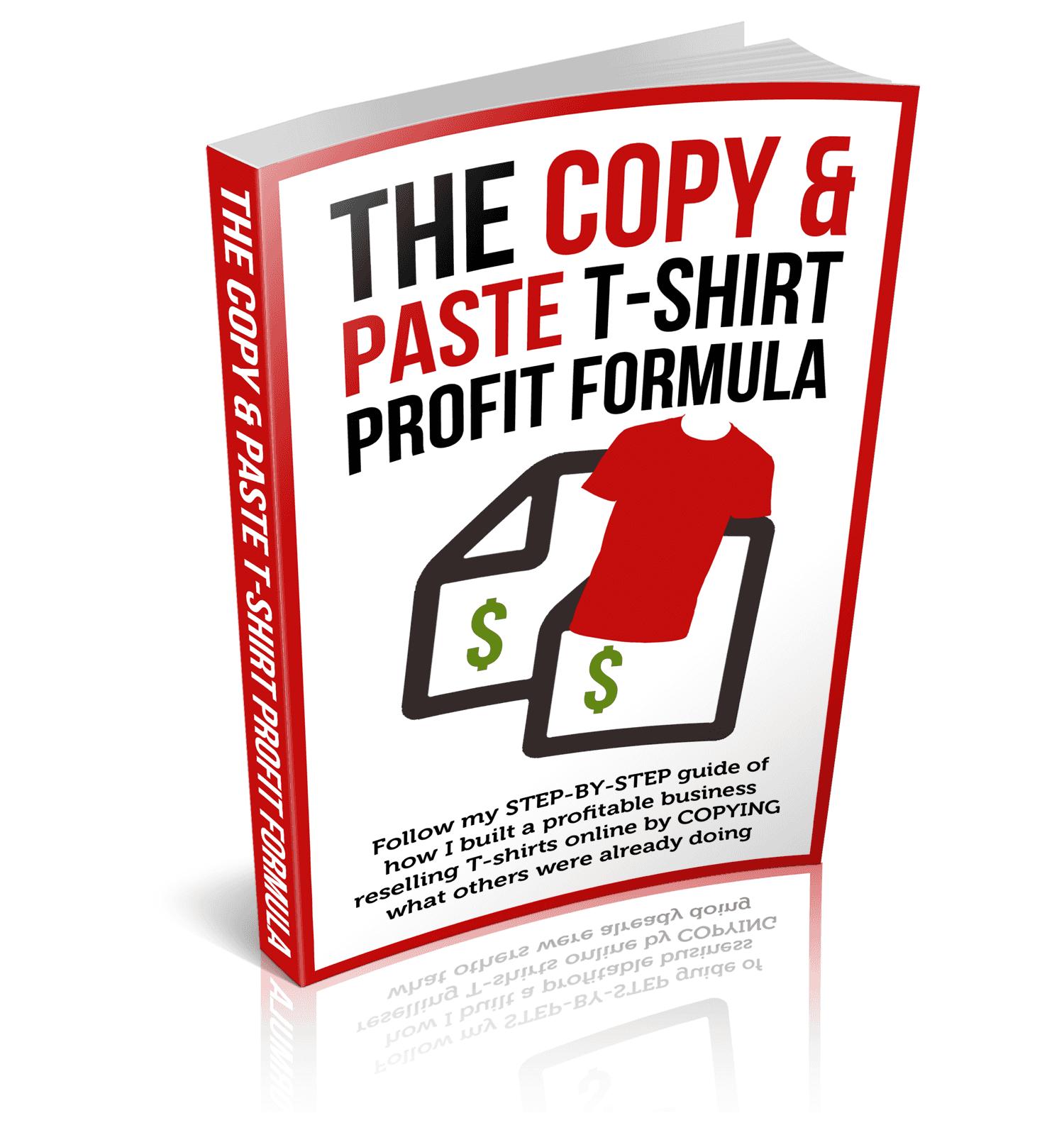 教你如何通过复制最成功的卖家已经在做的事情来建立你自己的高盈利的T恤销售(The Copy & Paste T-Shirt Profit Formula)