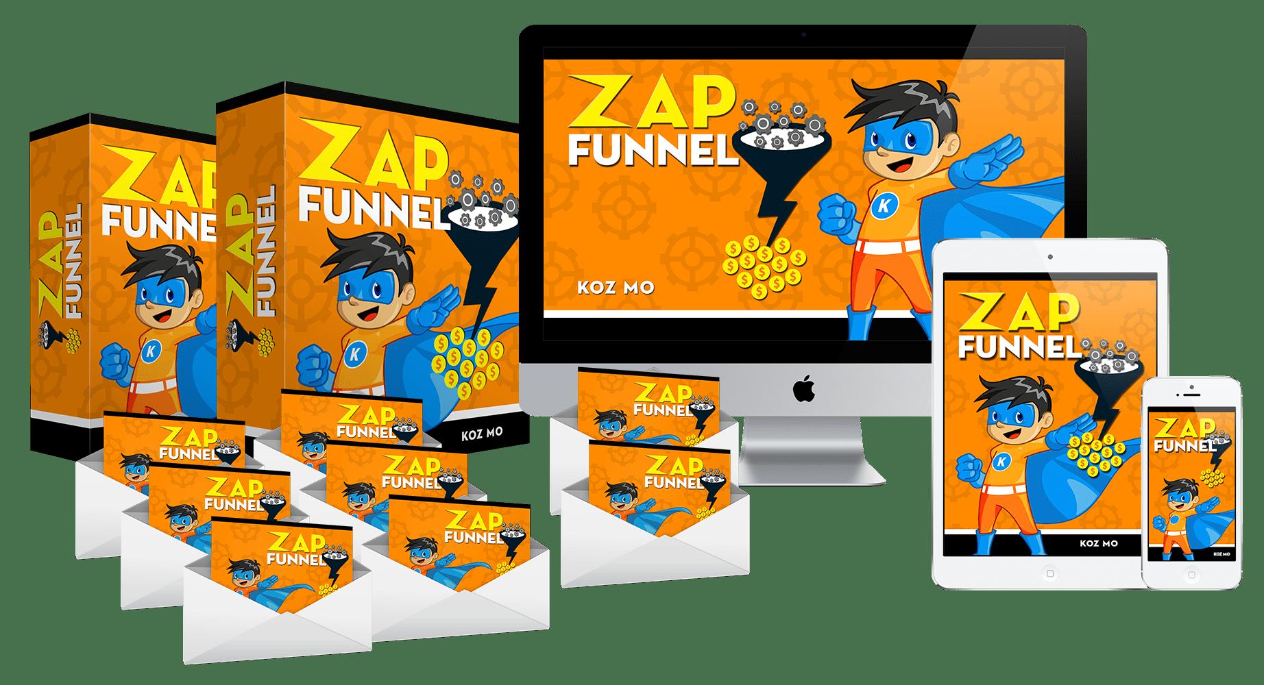 获得8个即将开始的Generating Funnels - 并开始创建您的邮件营销列表并进行大量销售(Zap Funnel)