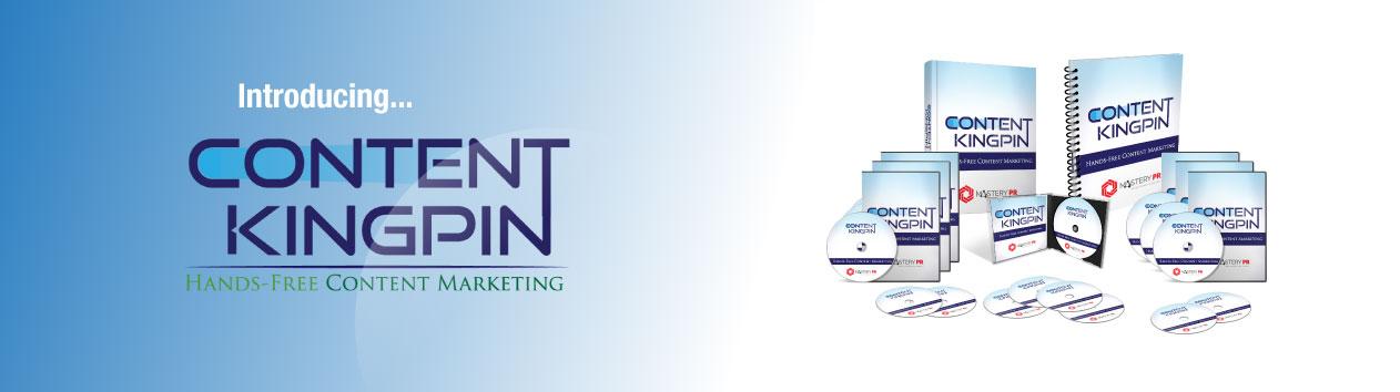 学习如何快速找到,策划,制作和发布高品质的价格便宜的内容(Content Kingpin)