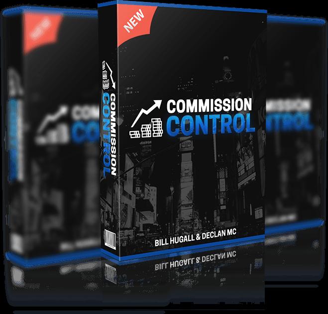 专注于一种可靠的、被证明的方法来做持久的在线收入(Commission Control)