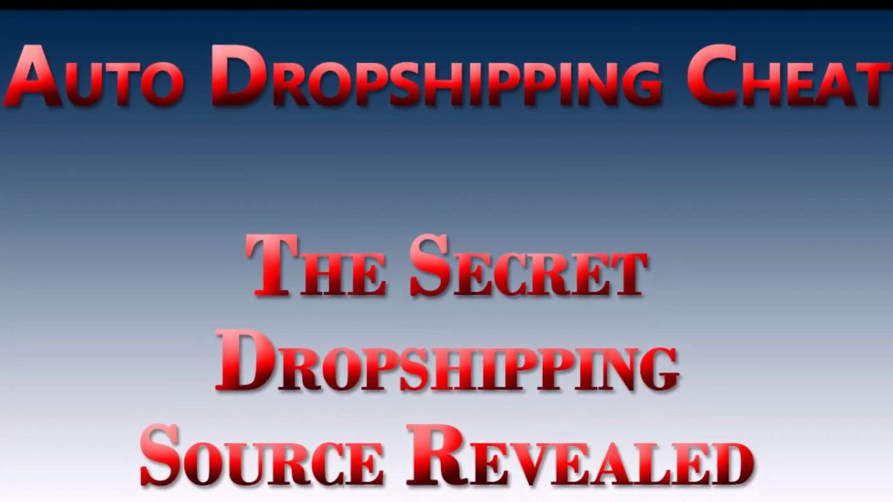 如何在3分钟内创建成千上万的自己的产品,并疯狂Dropshipping出售!(Auto Dropshipping Cheat)