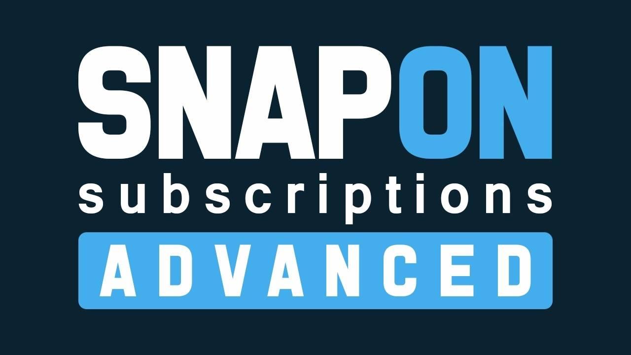 如何跳过昂贵的会员网站服务而快速轻松地构建订阅程序让用户每月每月的支付相关费用(Snap on Subscriptions)