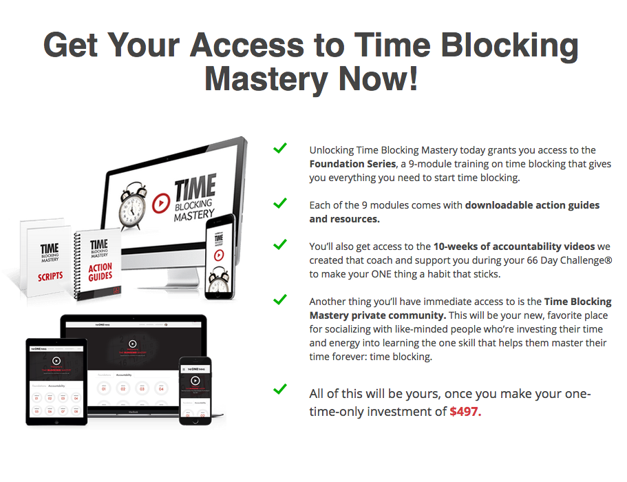 聪明和成功的高成就者如何获得更多的成就(Time Blocking Mastery)