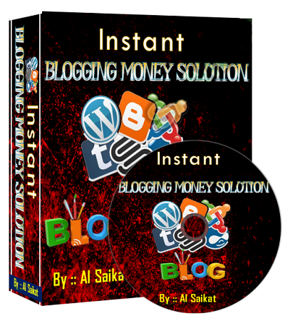Everything You Need to Start Your Very Own Money Machine with NO COST(Instant Blogging Money Solution)