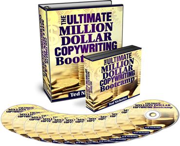 我会告诉你如何一步一步成为一个专业水平的营销和撰稿人 - 同时也享受增加您的产品或服务的火爆销售(Ultimate Million Dollar Copywriting)