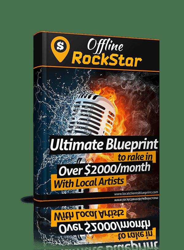 为您提供精确的本地客户营销指南,以便为您的客户获得更好的收获,并让他们每个月每个月付款!(Offline Rockstar)