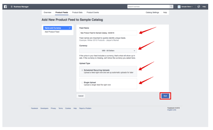 教您如何在Facebook上推广Shopify店铺 - 动态广告-自动再定位
