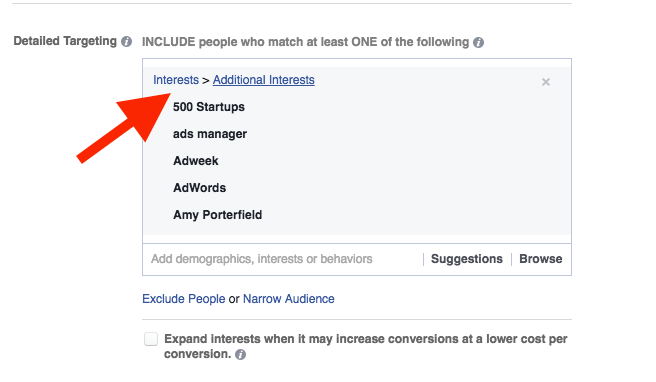 教您如何在Facebook上推广Shopify店铺 - 定位新受众