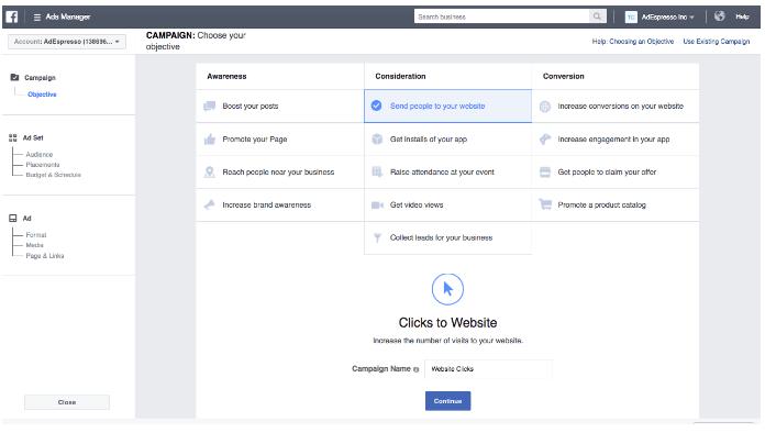 教您如何在Facebook上推广Shopify店铺 - 设置你的Facebook广告账户