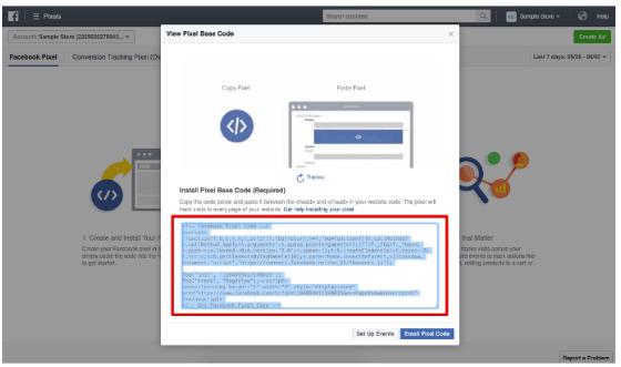 教您如何在Facebook上推广Shopify店铺 - Facebook像素(The Facebook Pixel)