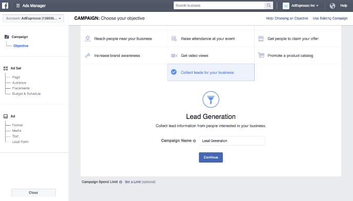 教您如何在Facebook上推广Shopify店铺 - Facebook的广告形式