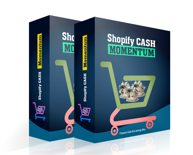Shopify电商赚钱教程 - 专业的经过验证的案例研究并逐步简化的方式让你持续地产生月复一月的收入 (Shopify Cash Momentum)