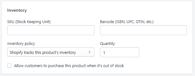 Shopify平台注册开店零基础入门教程 – Shopify产品单个上传 – Pricing,Inventory & Shipping